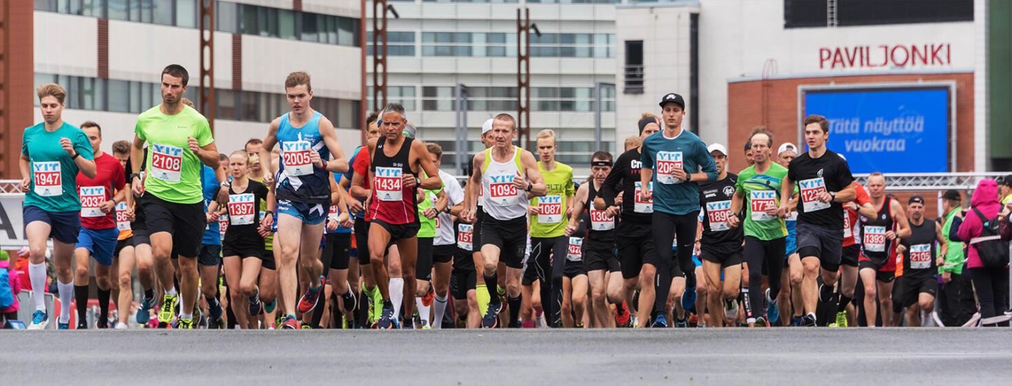 finlandia marathon lähtö