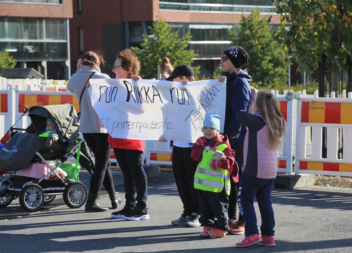 juoksun seuraaminen finlandia maraton